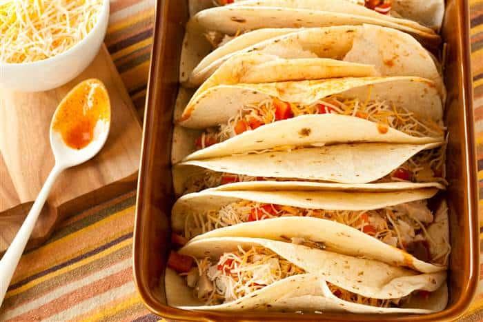 Make Ahead Chicken Enchiladas