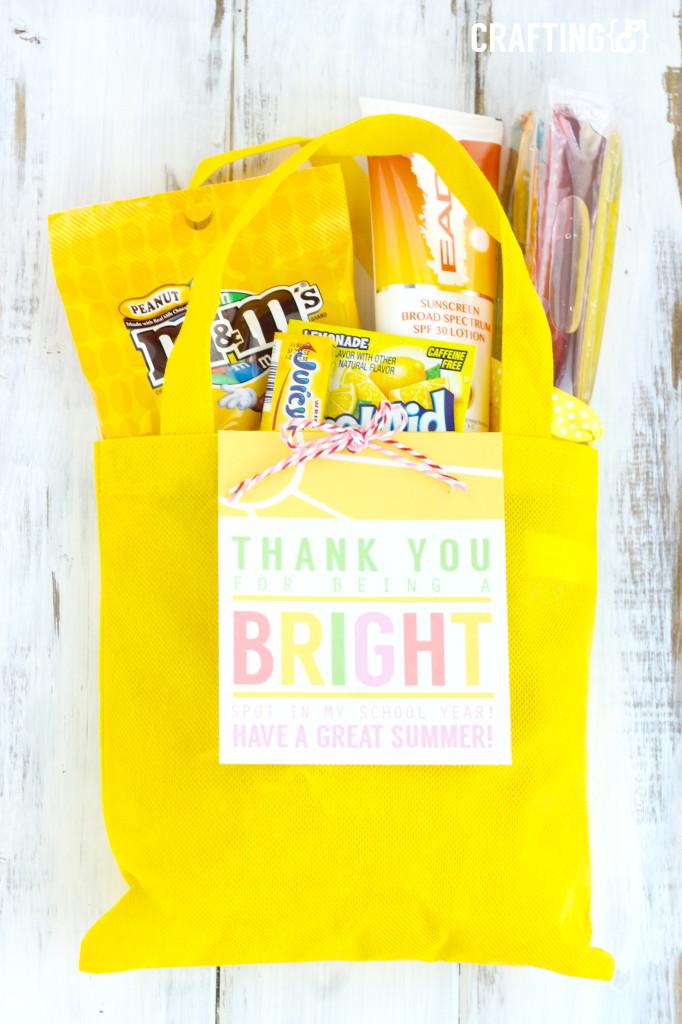 Bright Teacher Appreciation Gift