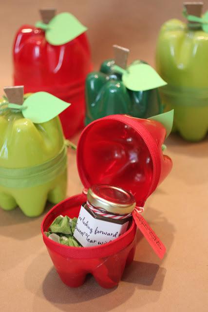 Soda Container Apples