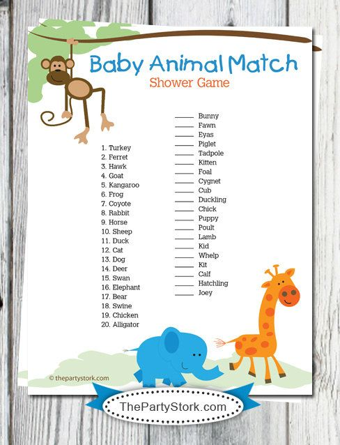 Baby Shower Game Printables Create Craft Love