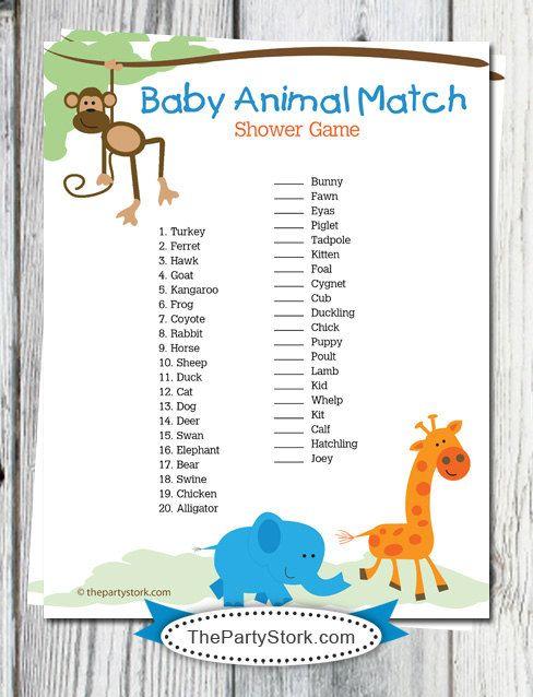 Baby Animal Match