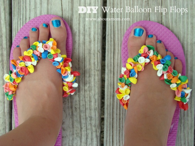 Water Balloon Flip Flops