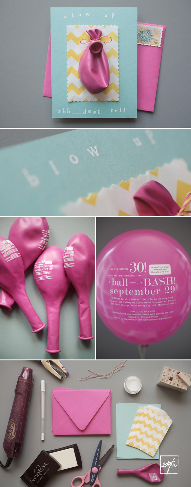 Balloon Invitations