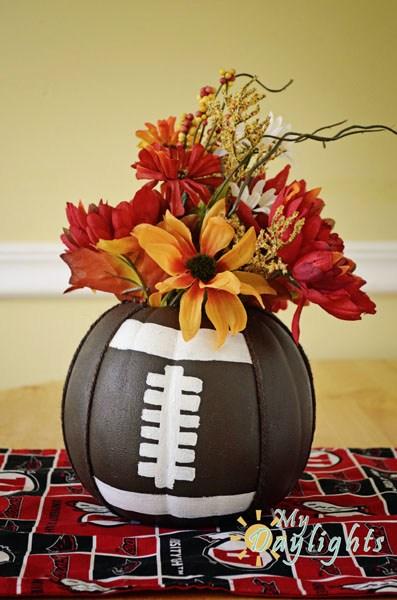 Football Pumpkins