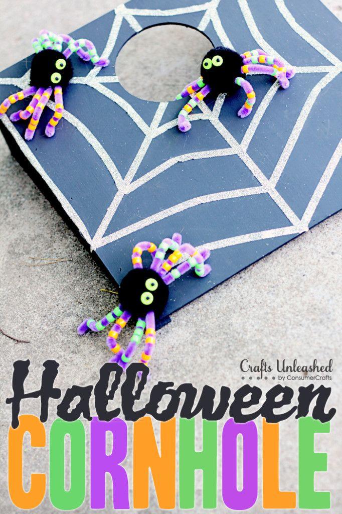 Halloween Corn Hole
