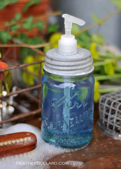 DIY Soap Dispenser