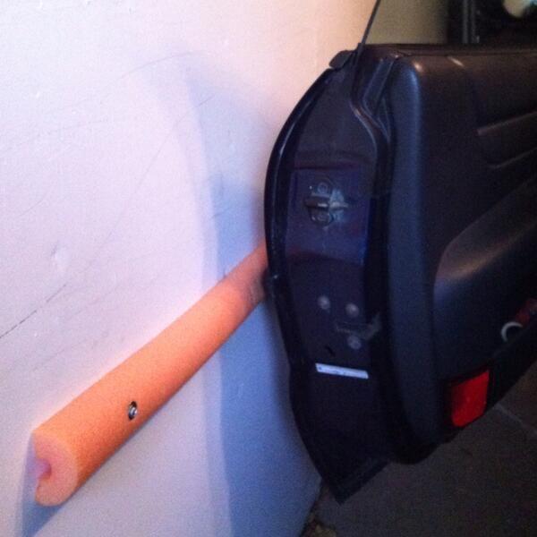 Pool Noodle Car Door Bumper