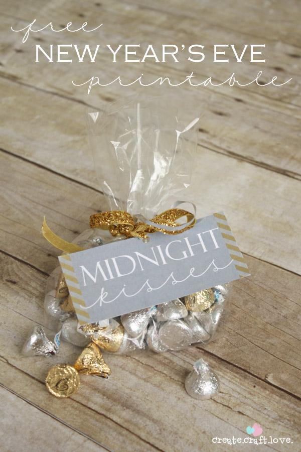 Midnight Kisses Printable
