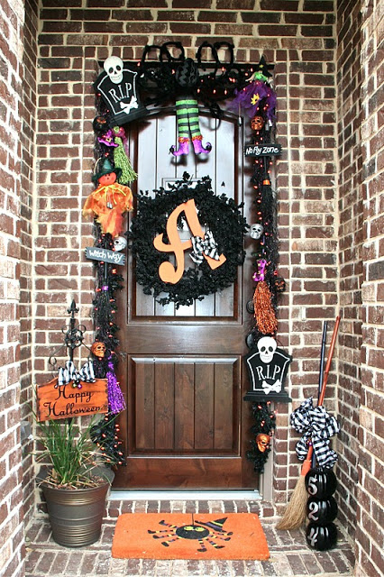 Whimsical Halloween Porch