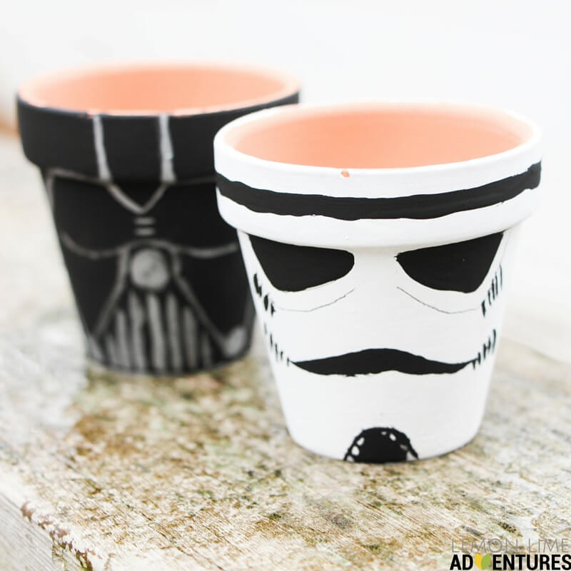 Star Wars Garden Pots
