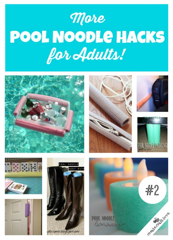Pool Noodle Hacks for Adults