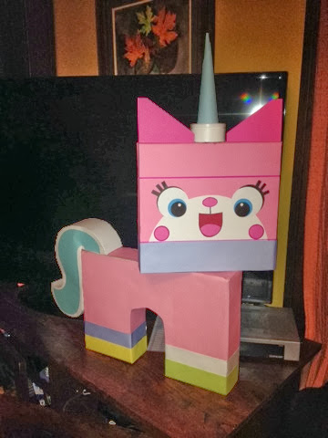 Unikitty Lego Valentine Box