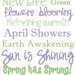 Spring Subway Art {Free Printable} at createcraftlove.com #spring #printables