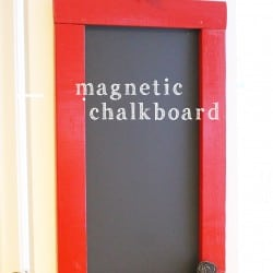 Magnetic Chalkboard for Pantry Door