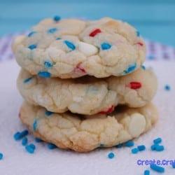 Firecracker Cookies via createcraftlove.com #cookies #recipes