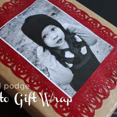 photo gift wrap