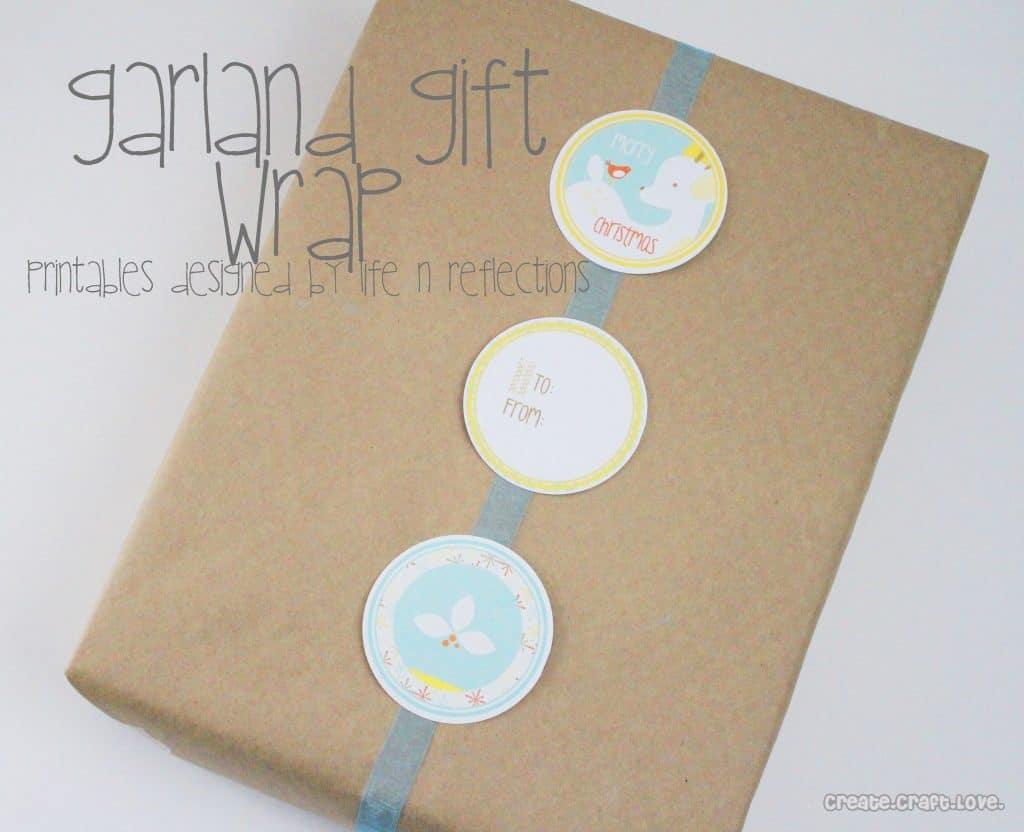 garland gift wrap