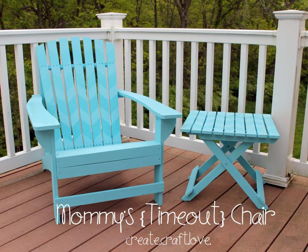 Mommy's Timeout Chair