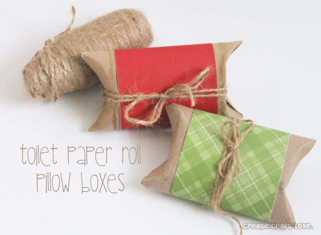 Toilet paper roll pillow boxes for Toilet paper roll jewelry box