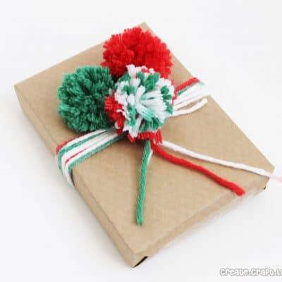Pom Pom Gift Wrap