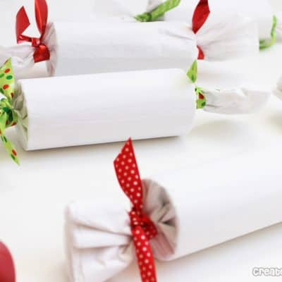 candy roll wrapped presents