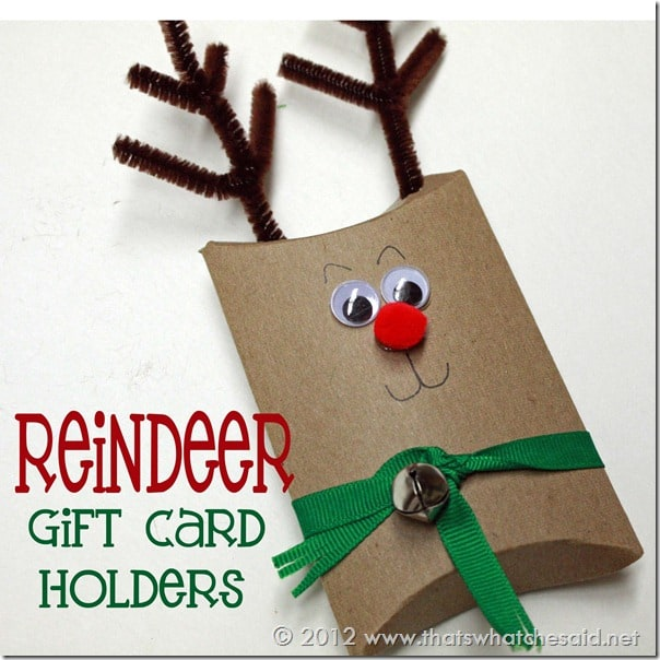 Diy Christmas Gift Card Holder: Toilet Paper Roll Pillow Boxes