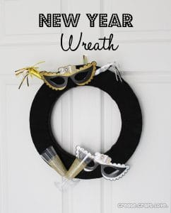 New Year Wreat