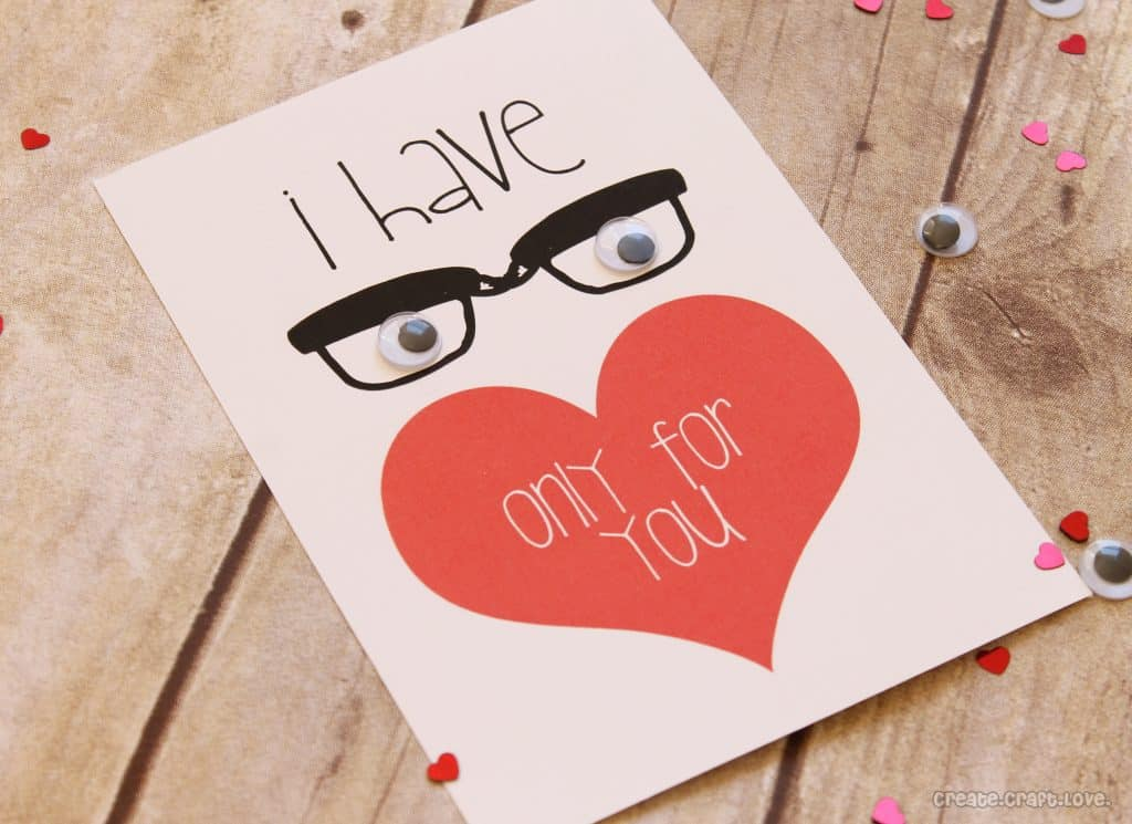 Eyes only for you valentine printable - Ideas para sanvalentin ...