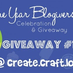 One Year Blogiversary Giveaway #1