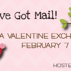 Valentine Exchange - sign up at createcraftlove.com #valentinesday