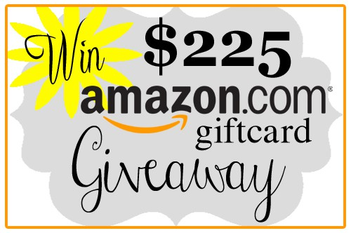 $225 amazon giftcard blog #giveaway at createcraftlove.com