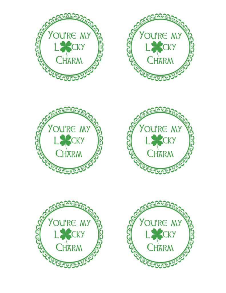 lucky charm printable Pictures By Just Jill Instagram