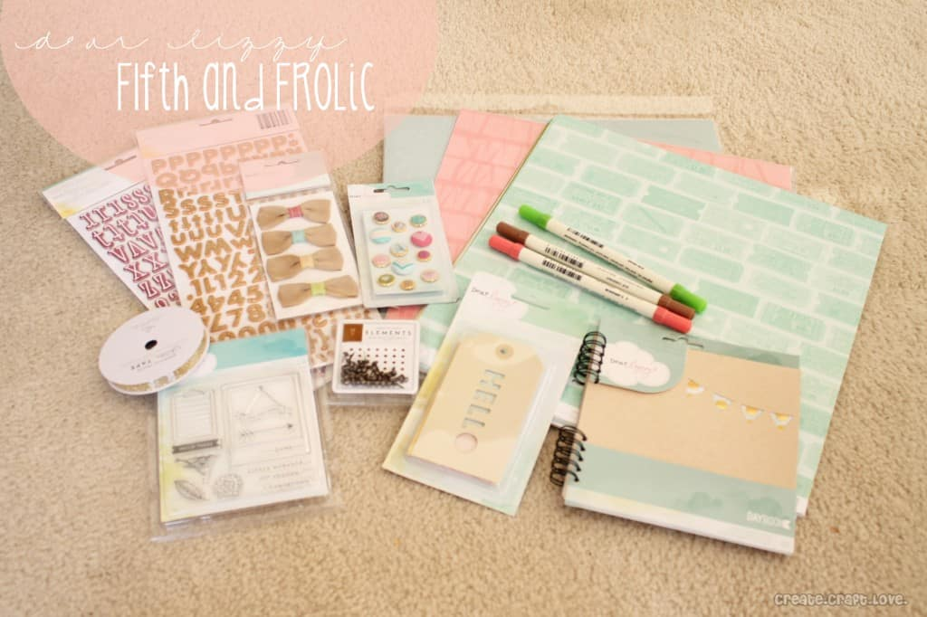 Dear Lizzy FIfth and Frolic Line #papercrafts
