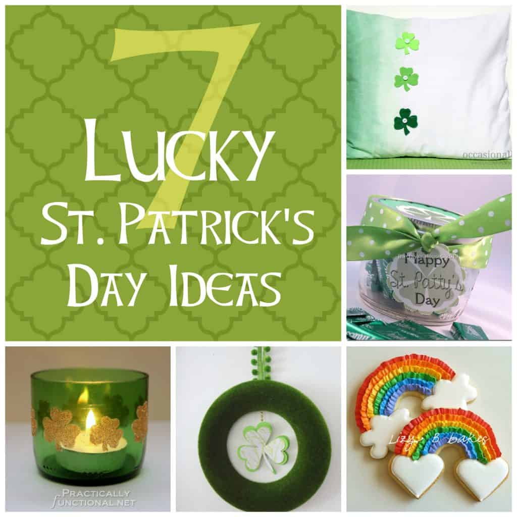 7 Lucky St. Patrick's Day Ideas from createcraftlove.com #stpatricksday