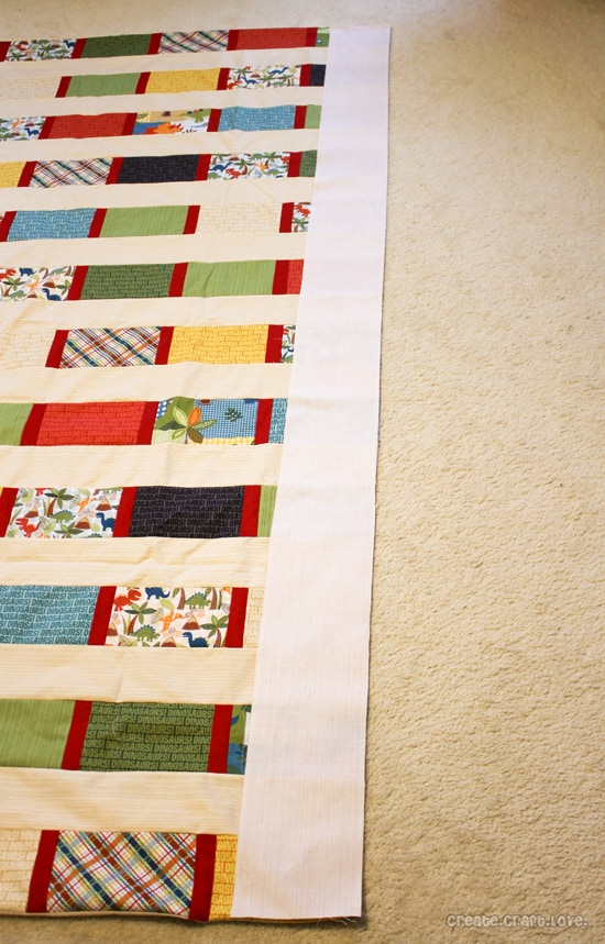 quilt long border