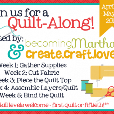 Quilt Along: Gathering Supplies