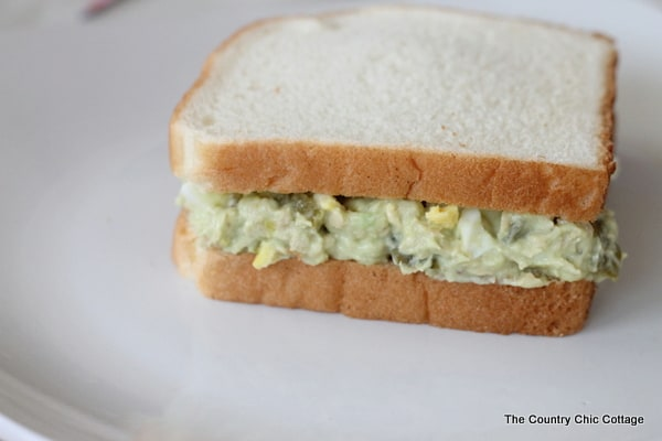 avocado salmon sandwich spread from The Country Chic Cottage-001