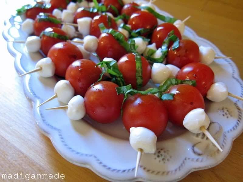 caprese-bites-on-toothpick-tomato-basil-mozzerella-appetizer