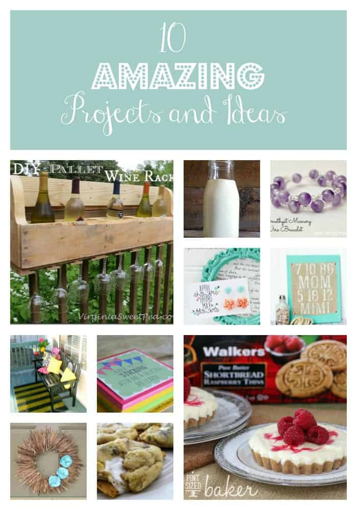 10 Amazing Projects and Ideas via createcraftlove.com #features #linkparty
