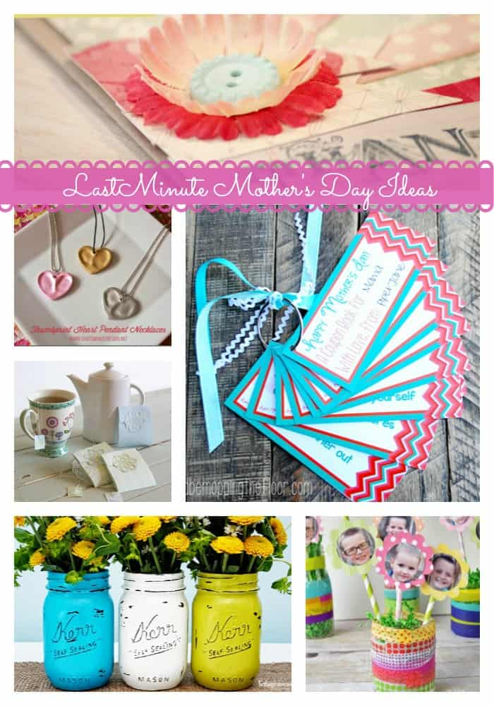 13 Great Last Minute Mother's Day Ideas from createcraftlove.com #mothersday #features