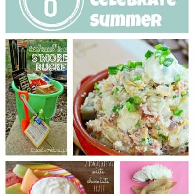 8 Ways to Celebrate Summer via createcraftlove.com #summer #linkparty #features
