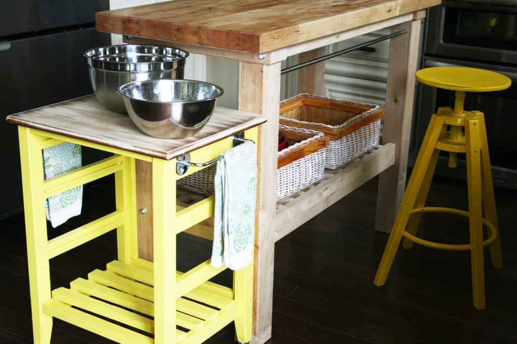 DIY-mini-kitchen-island-yellow-19-03-1024x682