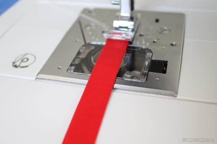 FQ potholder tab sewn