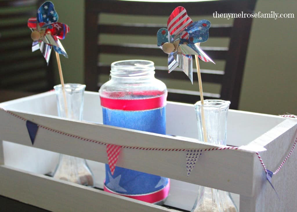 Washi-Tape-Bunting-for-Patriotic-Centerpiece