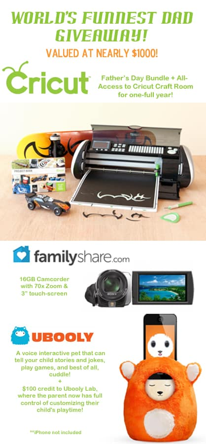 worlds funnest dad giveaway