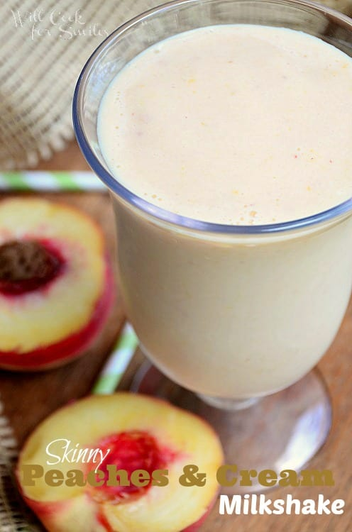 Skinny-Peaches-and-Cream-Milkshake-2-willcookforsmiles.com_