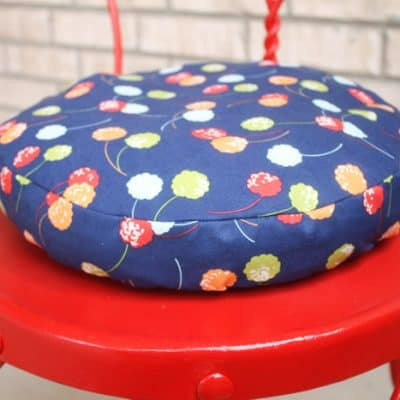 Simple Round Cushion Tutorial