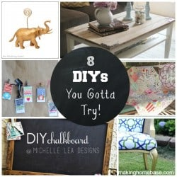 Creative Connection Party Features - 8 DIYS You Gotta Try