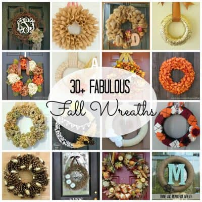 30+ Fabulous Fall Wreaths