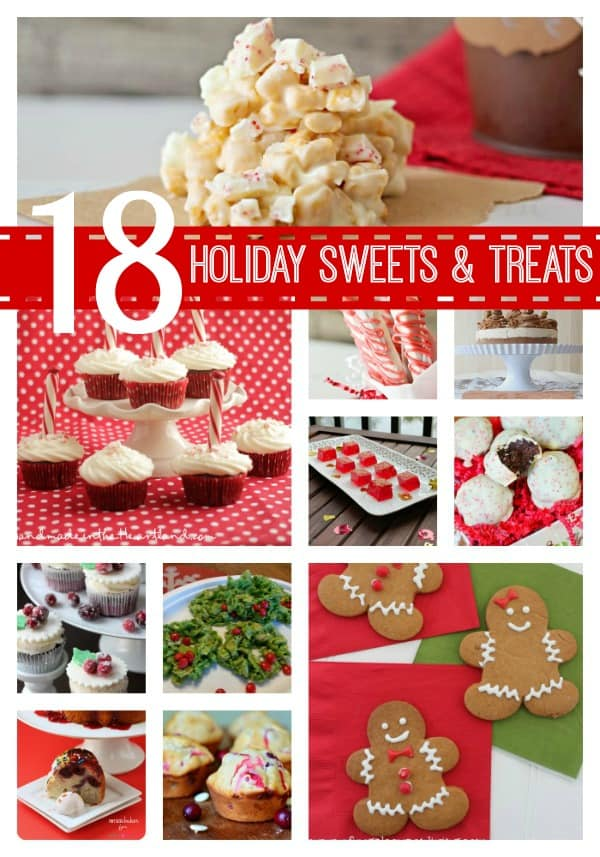 18 Holiday Sweets and Treats from waittilyourfathergetshome.com #features #holiday #holidaybaking #recipes